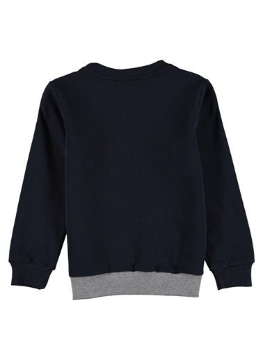 Asymmetry Sweatshirt Lacivert